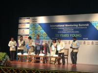 Boris Tkachenko, YBR programme manager, visited International Mentoring  Summit as a special guest and a speaker on April 4-7 in Delhi