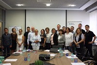 The meeting between Nexia Pacioli experts and Youth Business Russia programme members