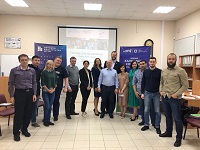 The launch of the new mentoring-in-entrepreneurship group in Yugra