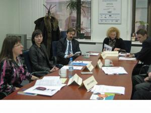 The first meeting of the YBR (Youth Business Russia) Advisory Council