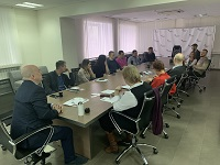 Mentoring session in Tambov