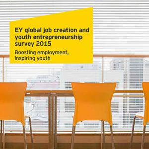 EY job creation youth entrepreneurship survey 2015