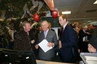 The Prince of Wales Helped to Raise Money for Youth Business Russia during the ICAP Charity Day