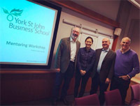 Boris Tkachenko completed advanced training in mentoring delivered by the leading expert Professor Bob Garvey on April 5-7 at York St John Business School